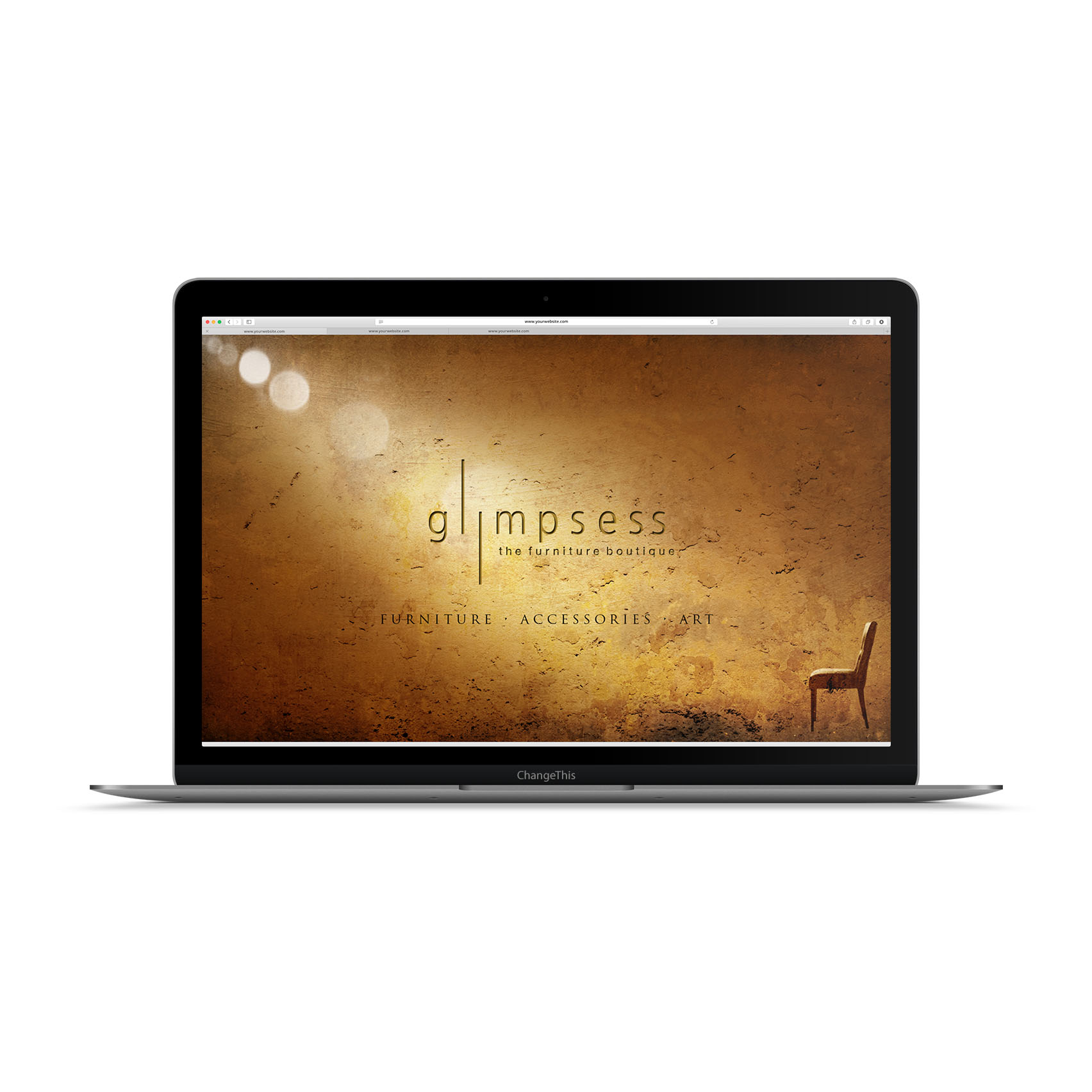 Glimpses Website, Website