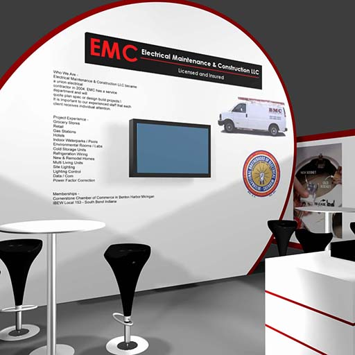 EMC Booth, Booth