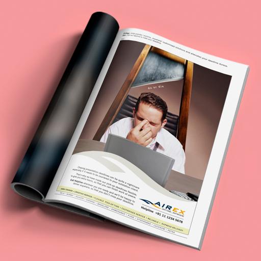 Airex, Advertisement