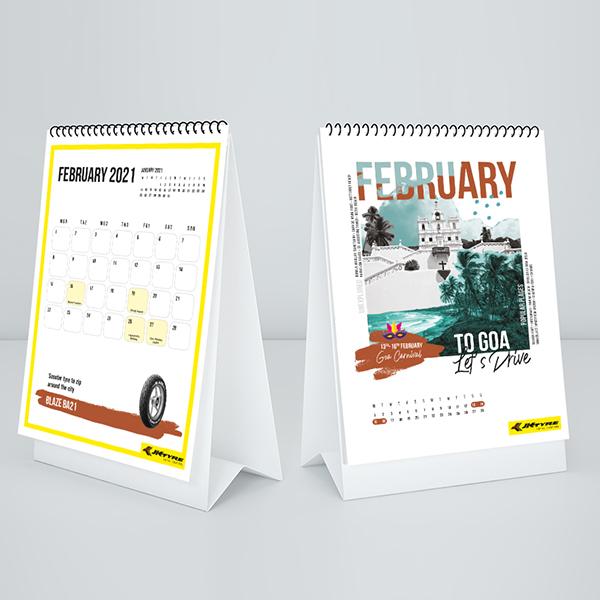 JK TYRE, Calendar